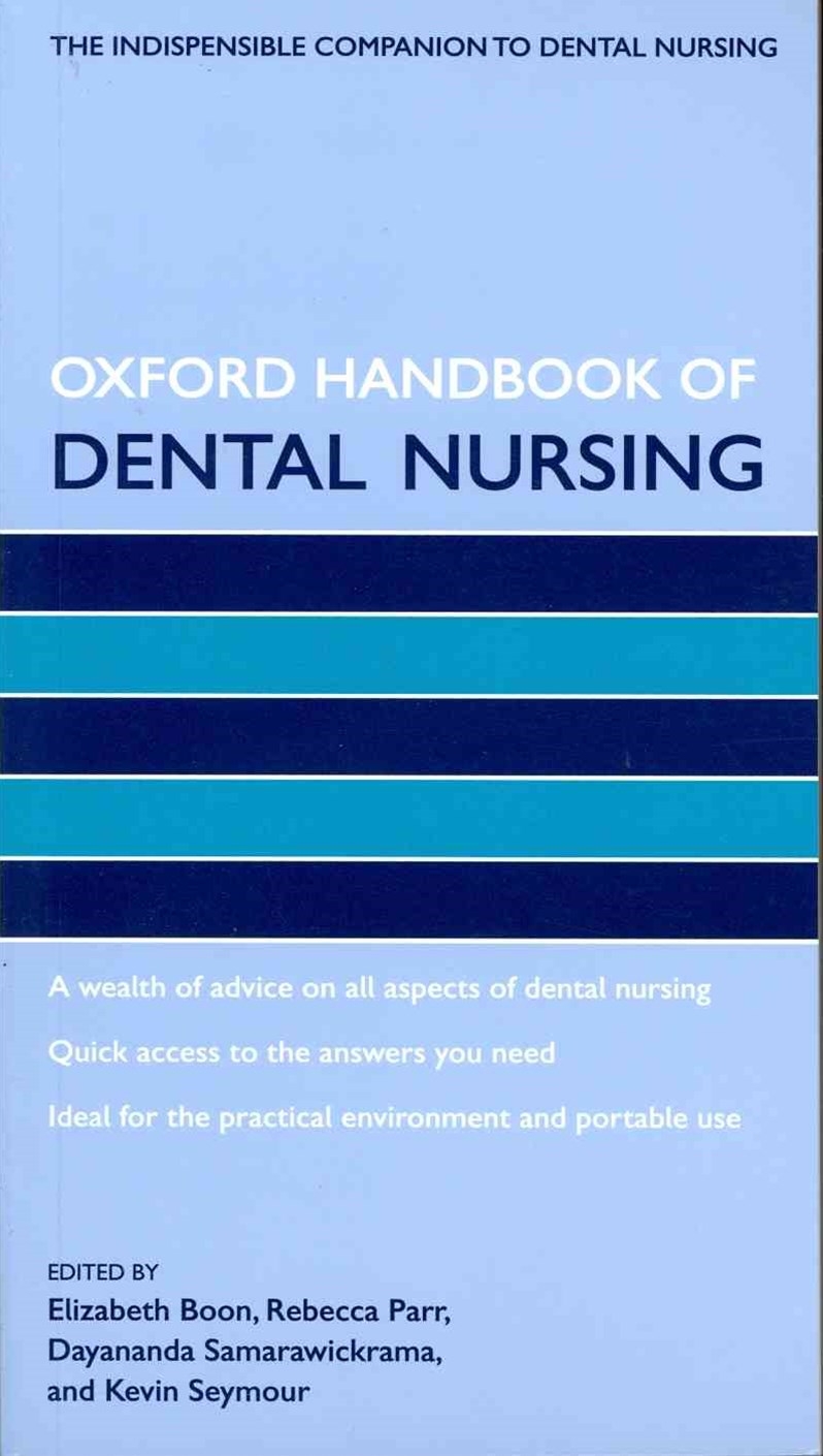 Oxford Handbook of Dental Nursing