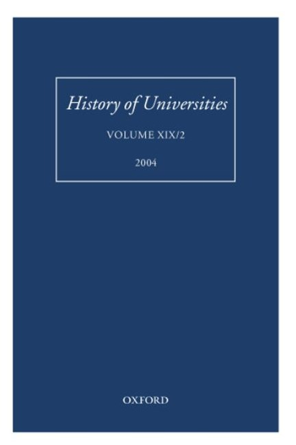 History of Universities, Volume Xix/2