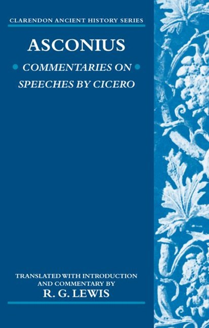 Commentaries on Speeches of Cicero