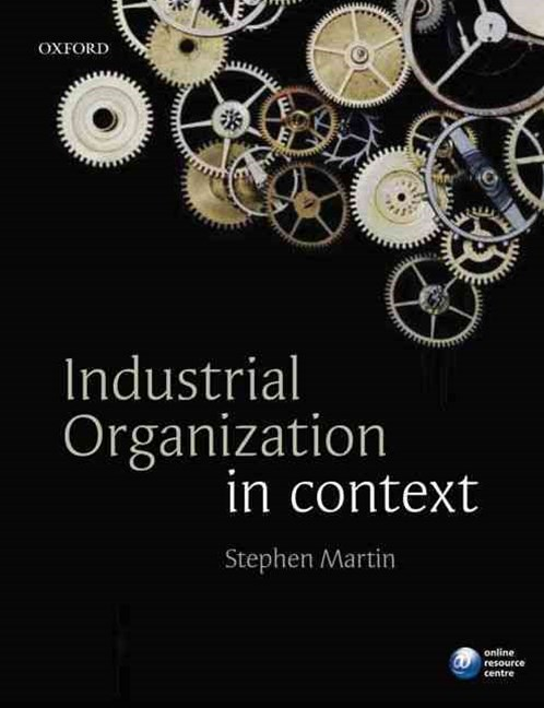 Industrial Organisation In Context