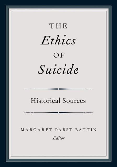 (ebook) Ethics of Suicide