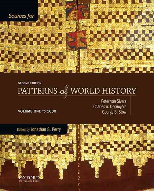 Sources for Patterns of World History - To 1600