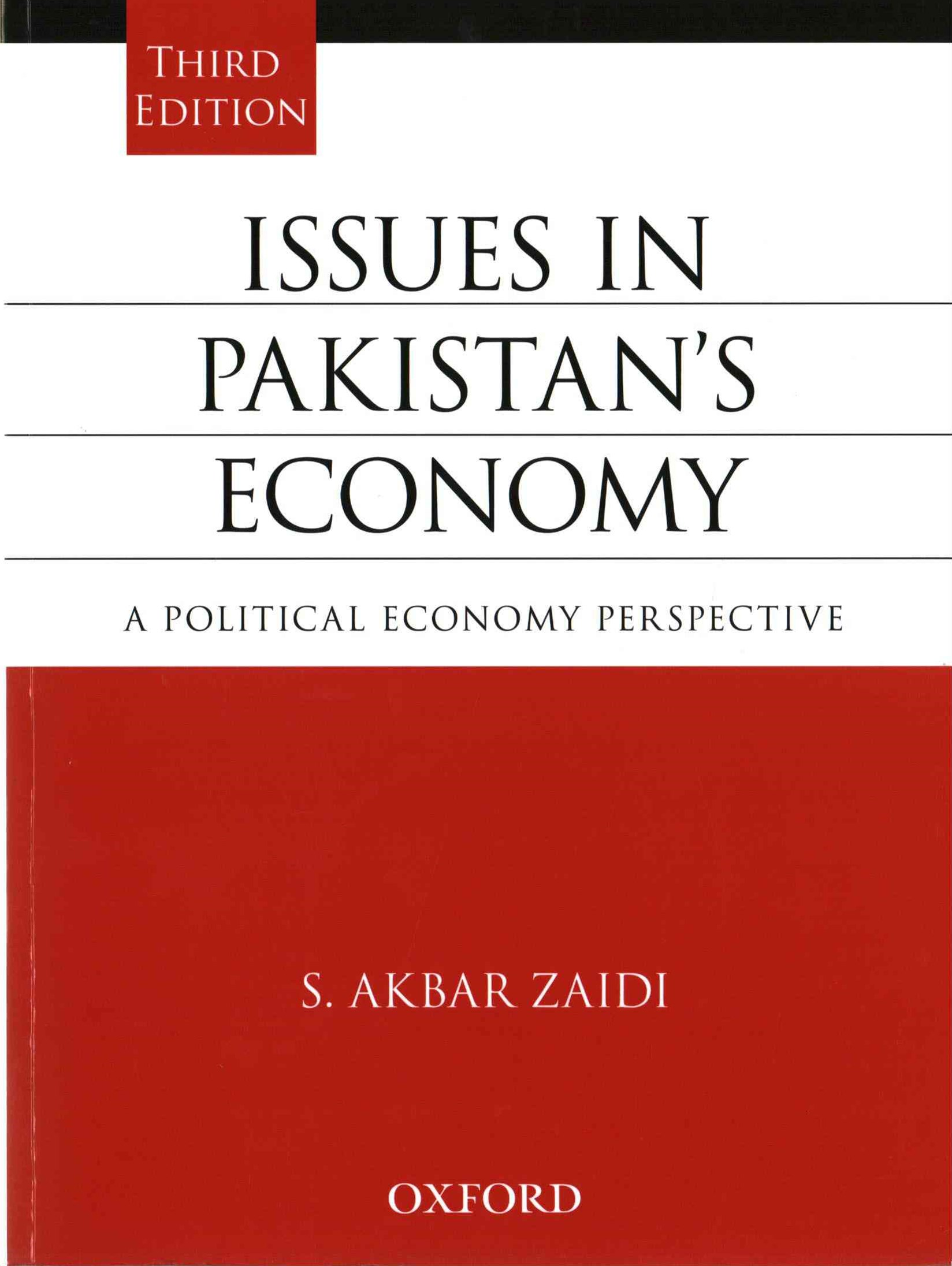 Issues in Pakistan's Economy