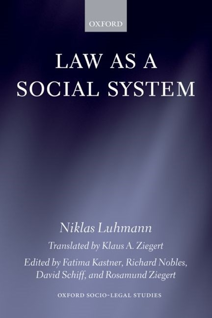 Law as a Social System