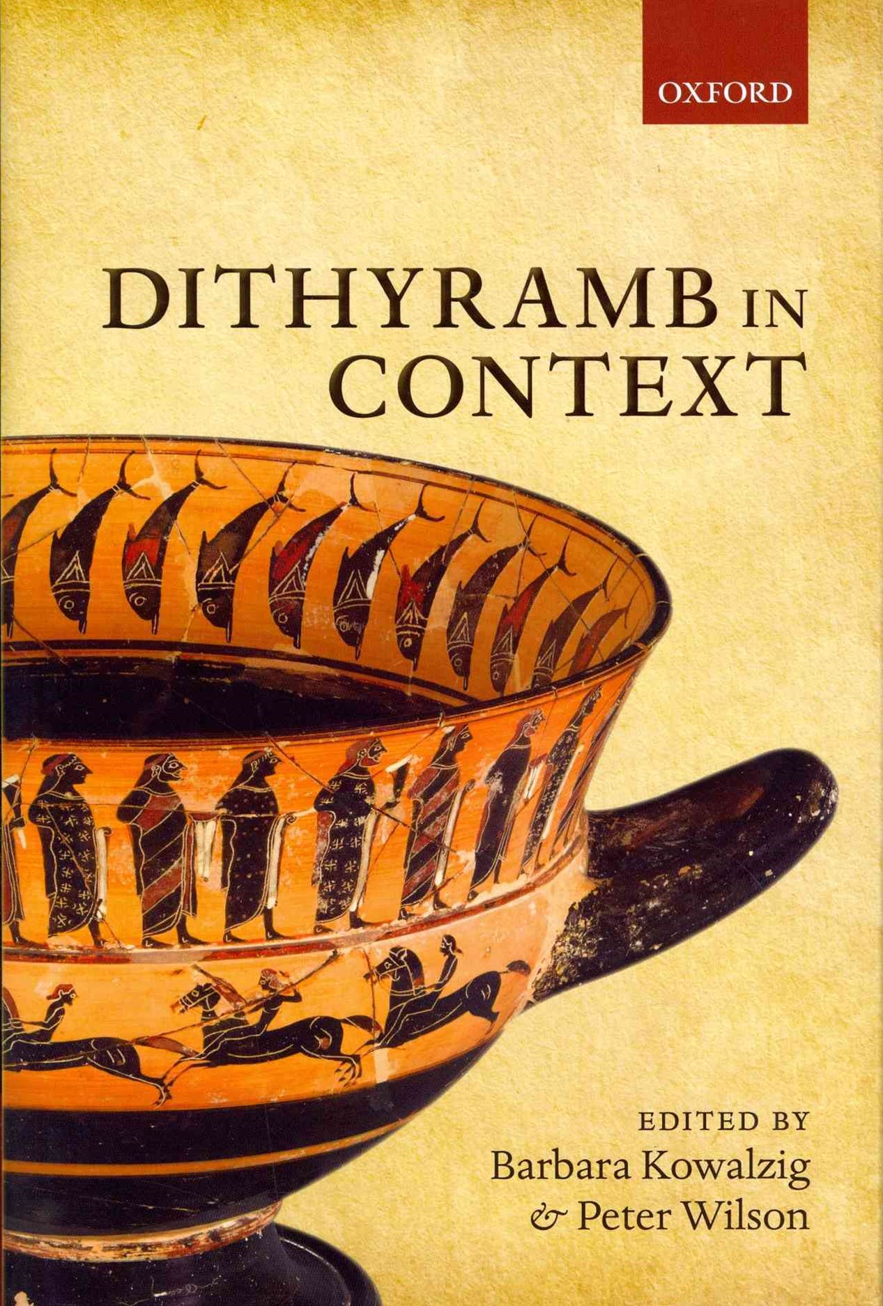 Dithyramb in Context