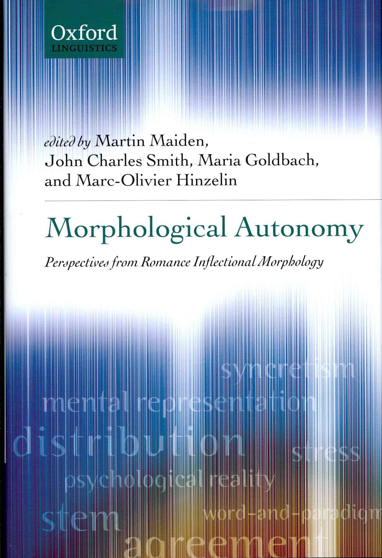 Morphological Autonomy