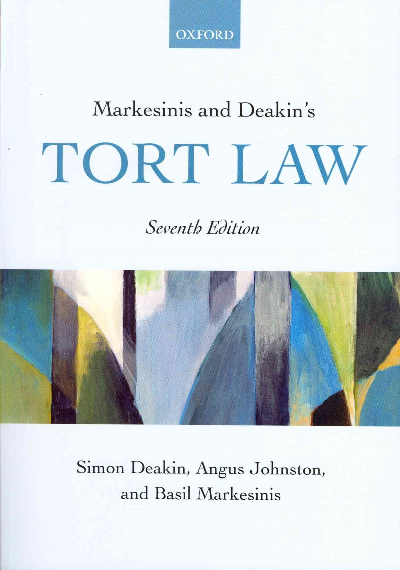 Markesinis and Deakin's Tort Law