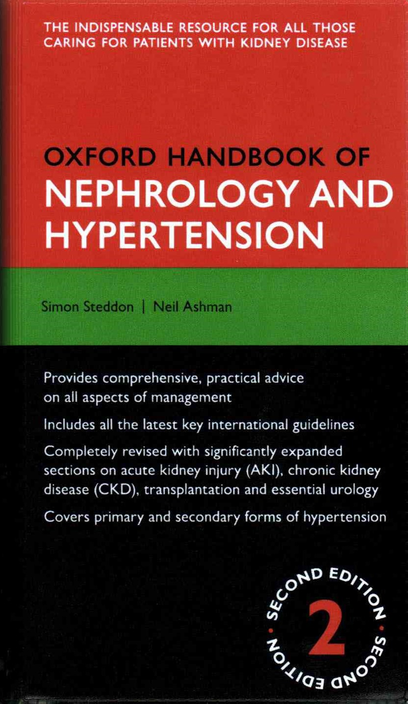 Oxford Handbook of Nephrology and Hypertension