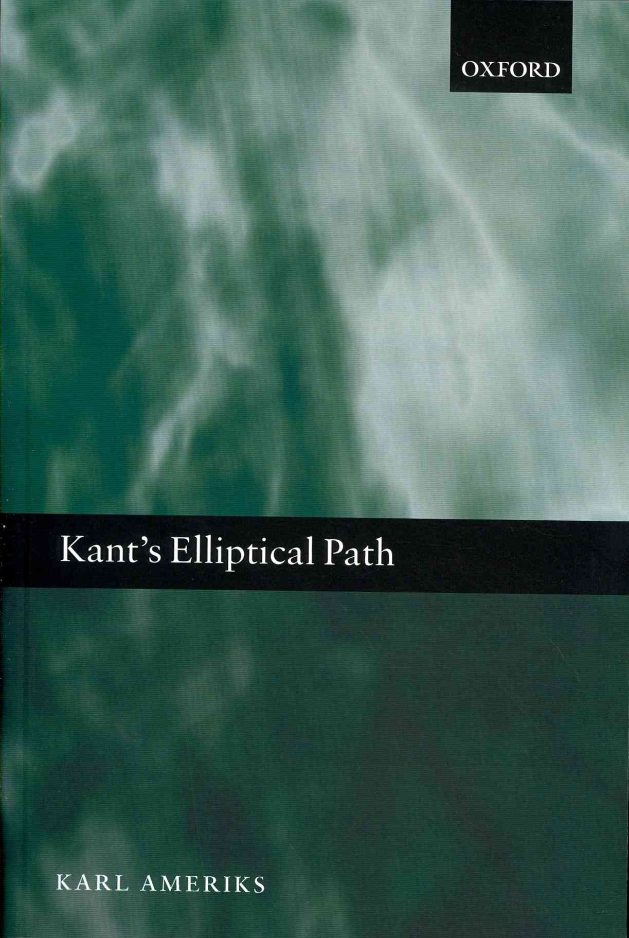 Kant's Elliptical Path