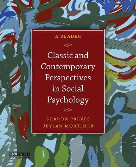 Perspectives in Social Psychcology