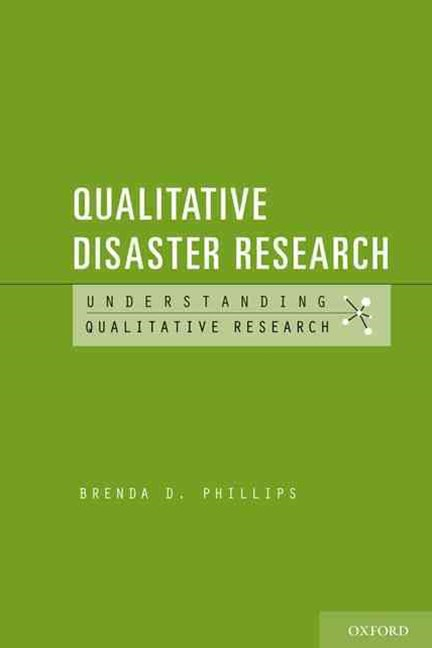 Qualitative Disaster Research