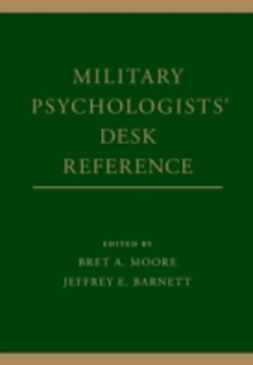 Military Psychologists Desk Reference