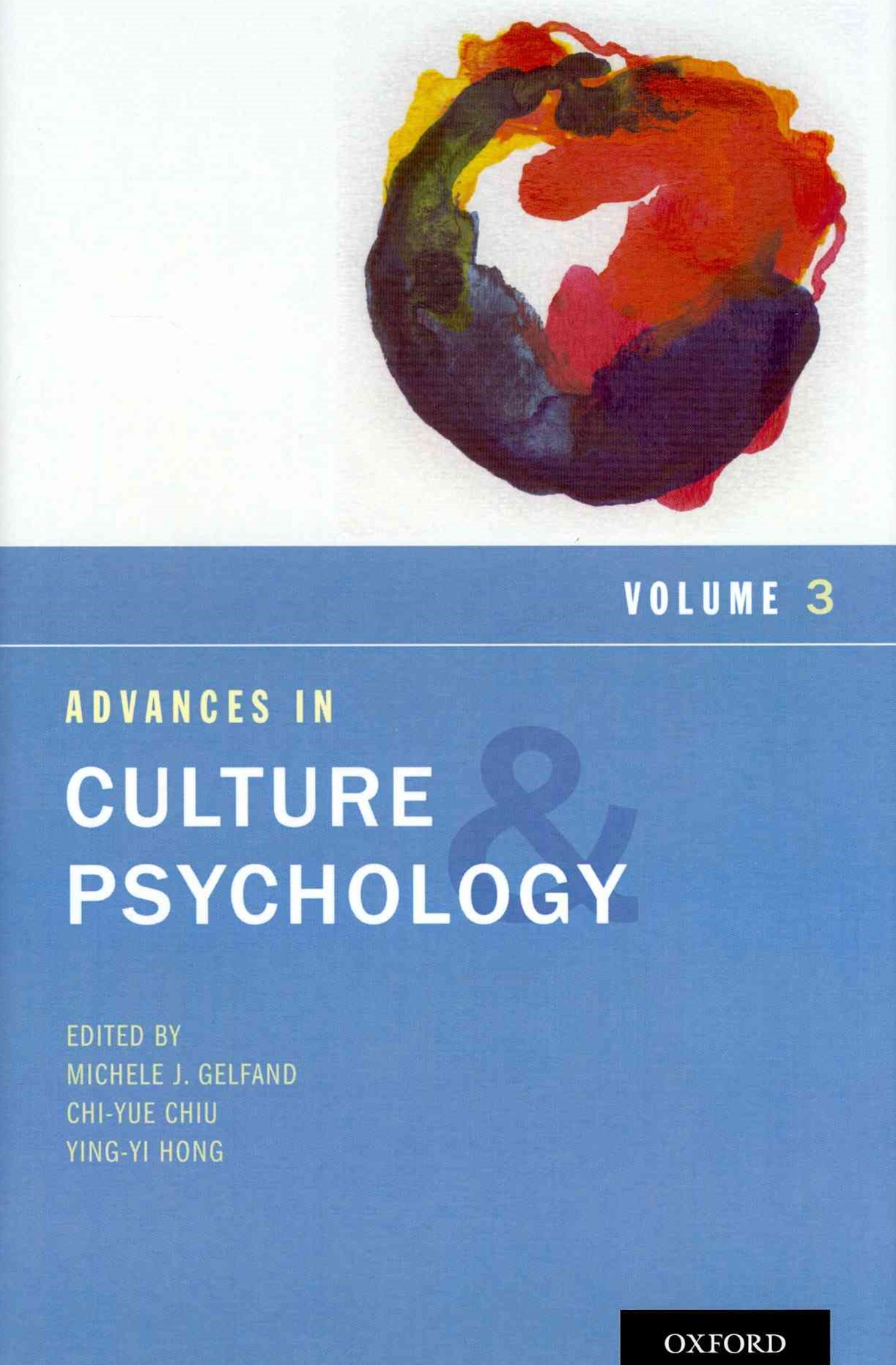 Advances in Culture and Psychology, Volume 3