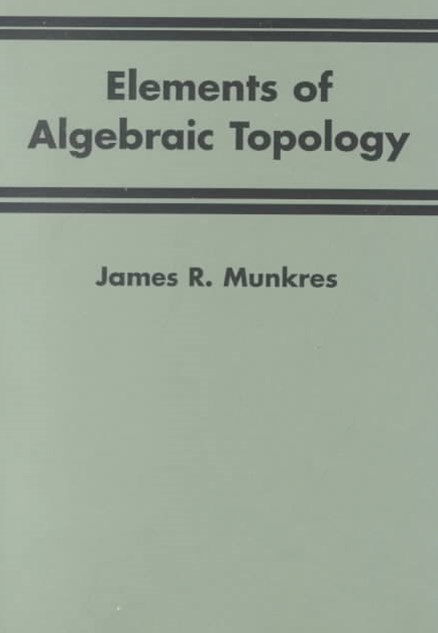 Elements Of Algebraic Topology
