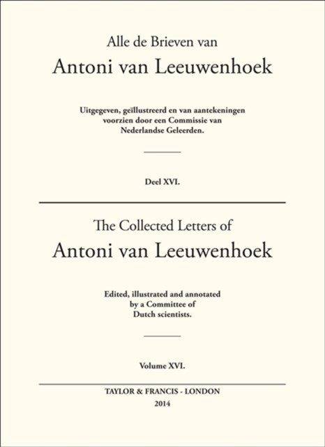 (ebook) The Collected Letters of Antoni Van Leeuwenhoek - Volume 16