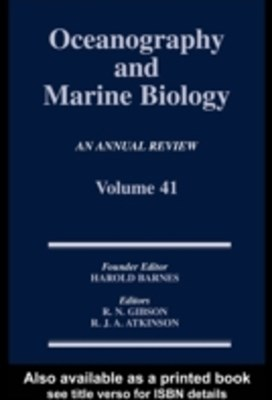 (ebook) Oceanography and Marine Biology, An Annual Review, Volume 41