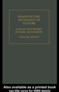 (ebook) Essays on the Sociology of Culture - Social Sciences Sociology