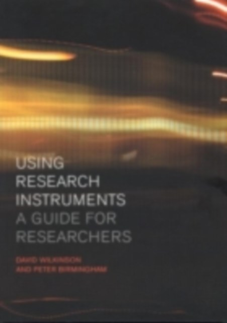 Using Research Instruments