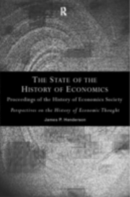 State of the History of Economics