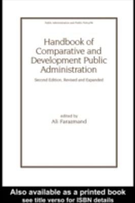 (ebook) Handbook of Comparative and Development Public Administration