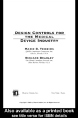 (ebook) Design Controls for the Medical Device Industry