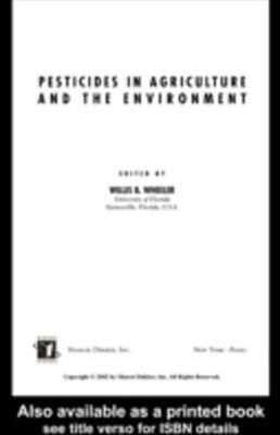(ebook) Pesticides in Agriculture and the Environment