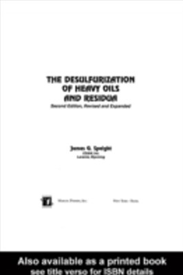 Desulfurization of Heavy Oils and Residua