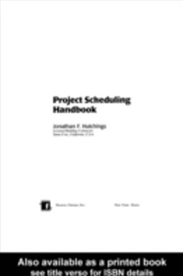 (ebook) Project Scheduling Handbook