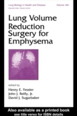 Lung Volume Reduction Surgery for Emphysema