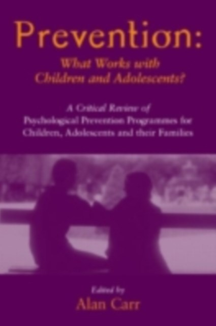 Prevention: What Works with Children and Adolescents?