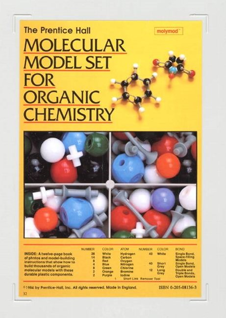 Prentice Hall Molecular Model Set