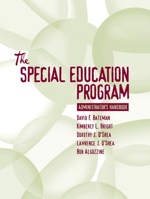 The Special Education Program