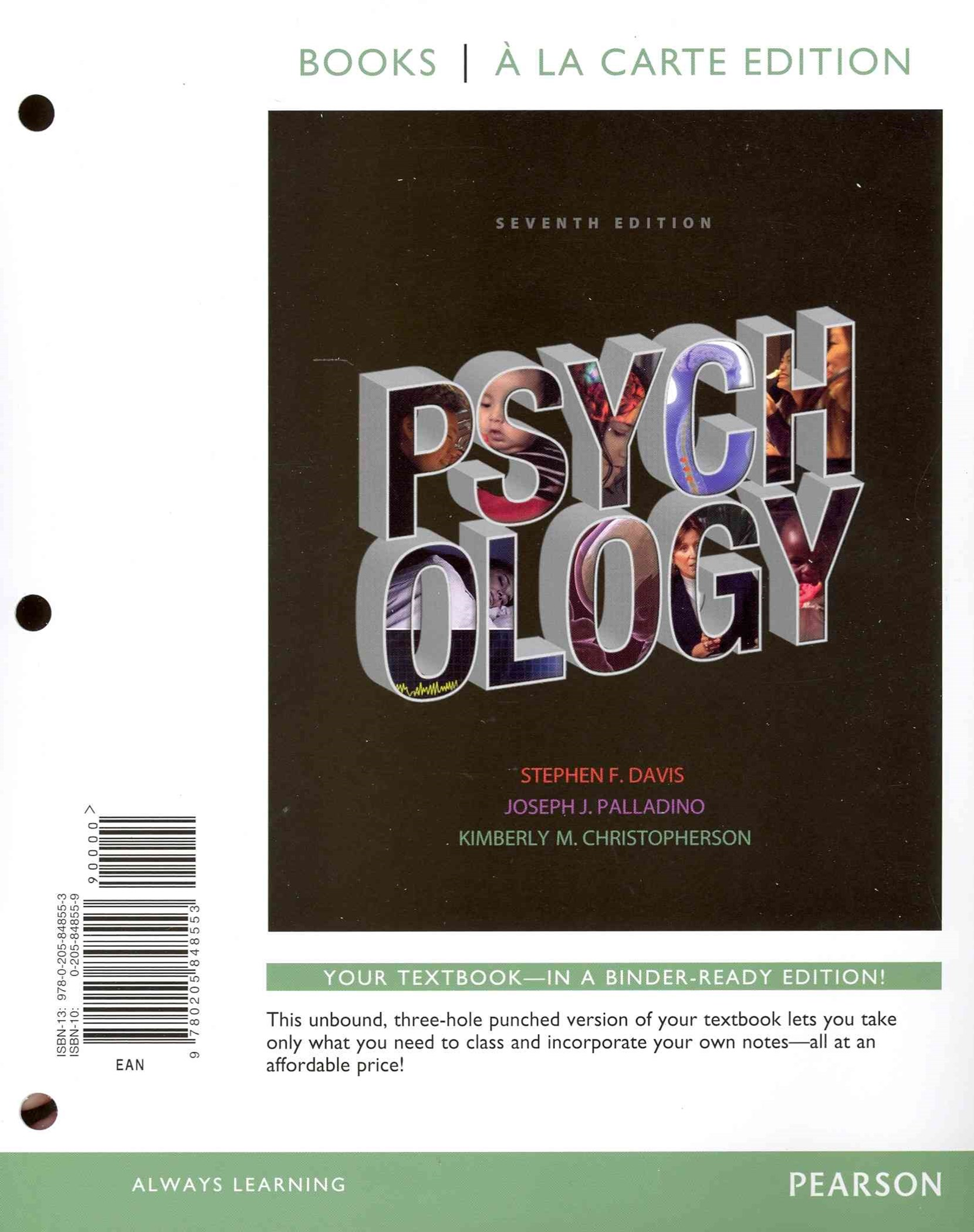 Psychology, Books a la Carte Edition