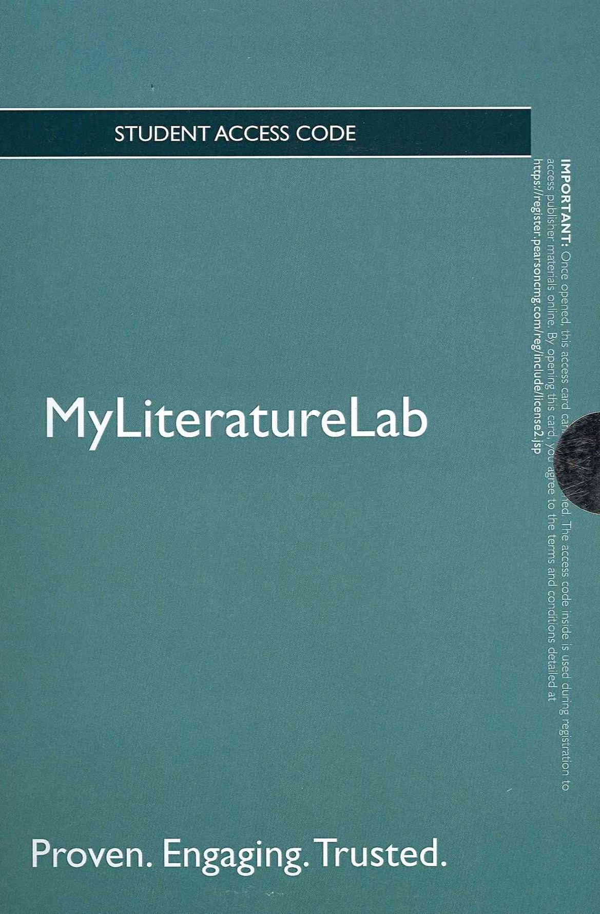 NEW MyLiteratureLab -- Standalone Access Card