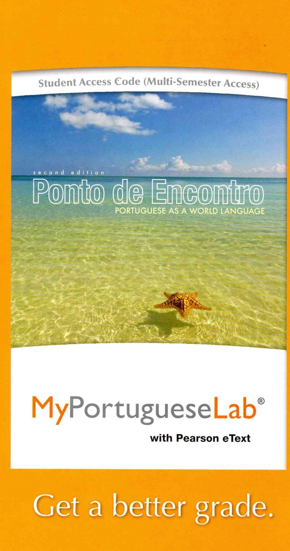 MyPortugueseLab with Pearson EText -- Access Card -- for Ponto de Encontro