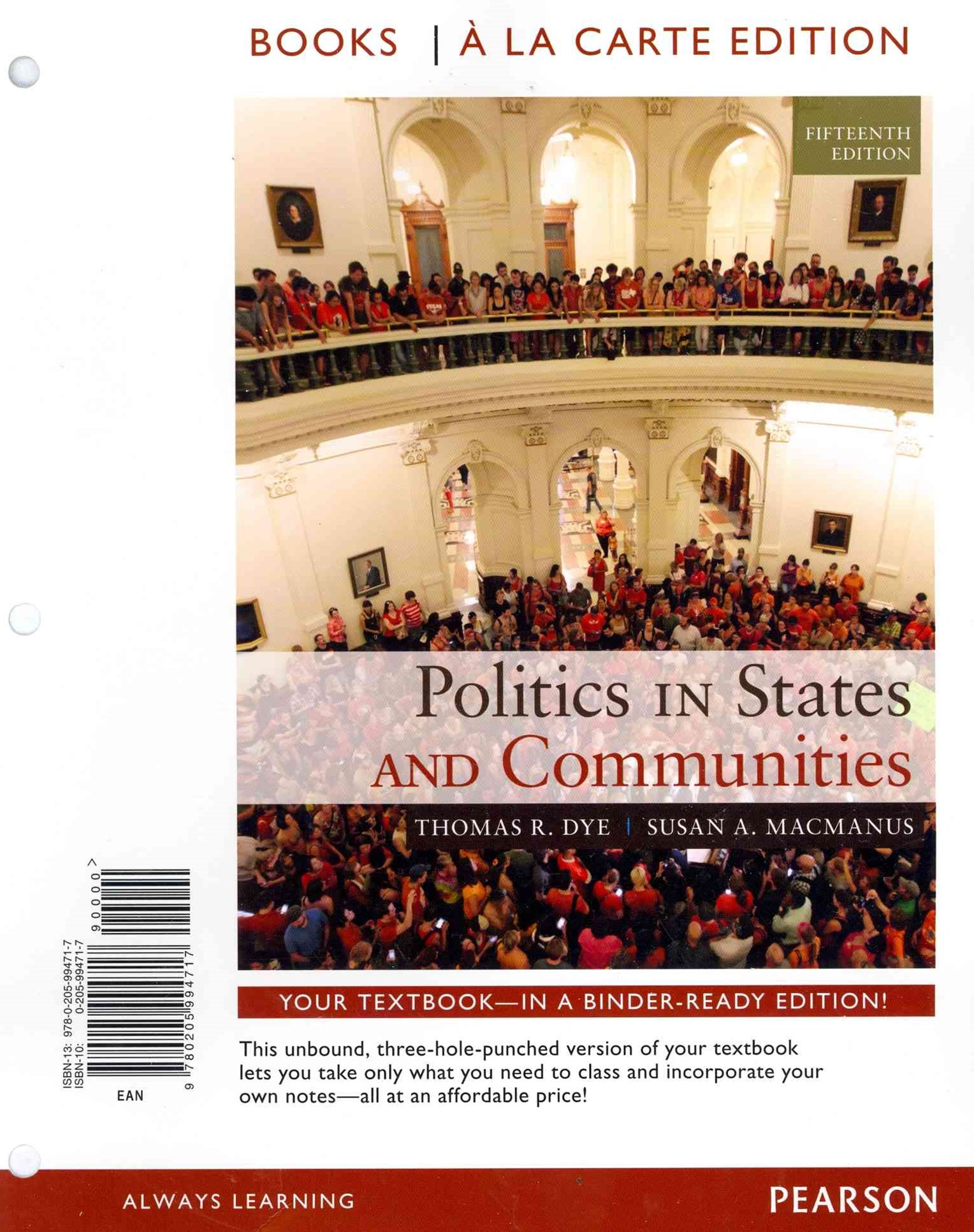 Politics in States and Communities Books a la Carte Edition
