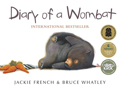 Diary of a Wombat by Jackie French, Bruce Whatley (9780207198366) - PaperBack - Non-Fiction Animals