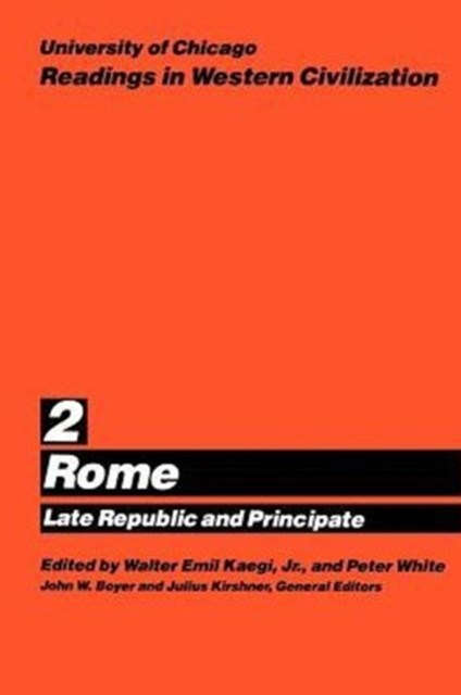 Readings in Western Civilization: Rome