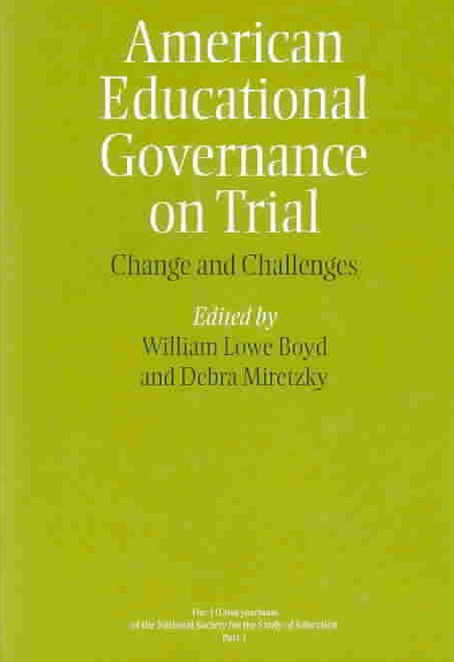 American Educational Governance on Trial