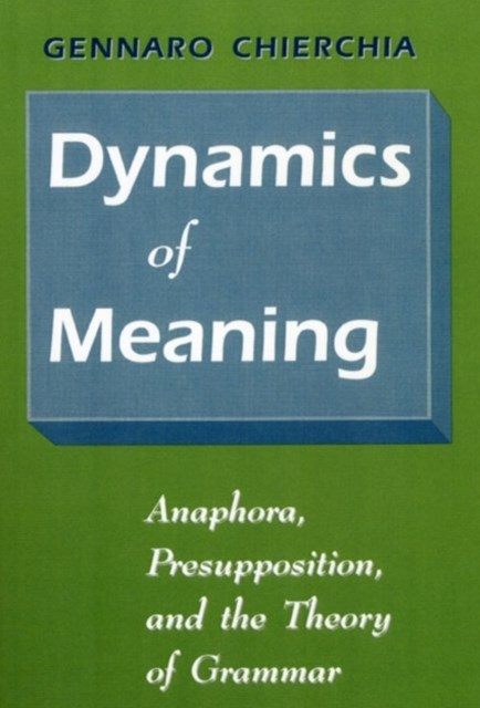 (ebook) Dynamics of Meaning