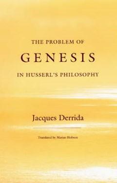Problem of Genesis in Husserl