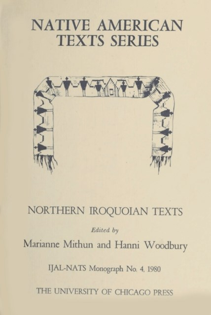 (ebook) Northern Iroquoian Texts