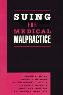Suing for Medical Malpractice
