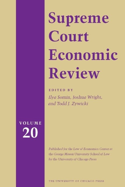 Supreme Court Economic Review, Volume 20