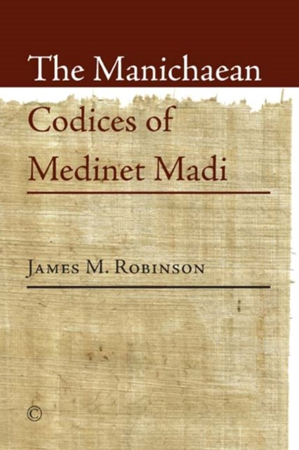 (ebook) Manichaean Codices of Medinet Madi