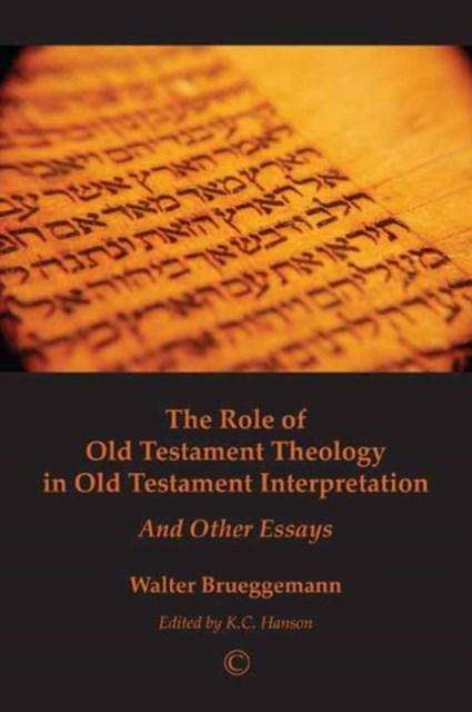 (ebook) Role of Old Testament Theology in Old Testament Interpretation