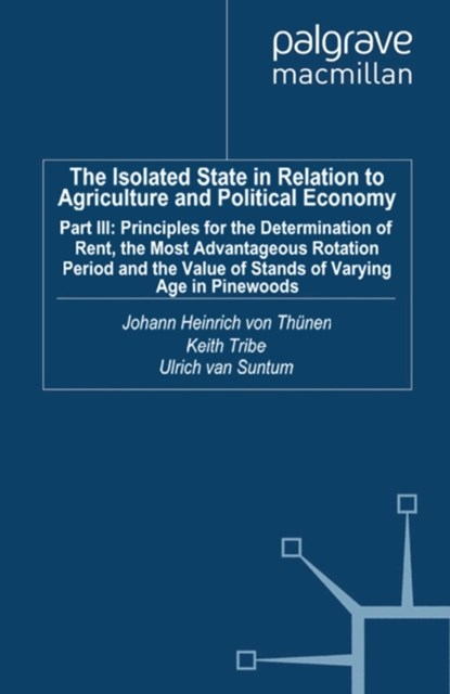 (ebook) Isolated State in Relation to Agriculture and Political Economy
