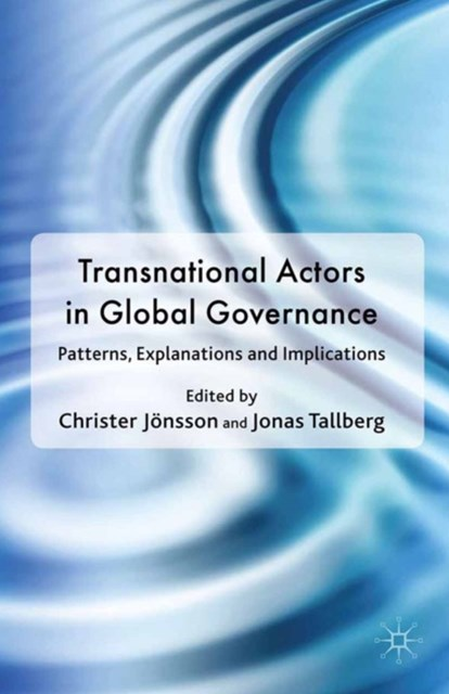 Transnational Actors in Global Governance