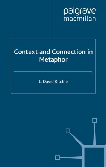 (ebook) Context and Connection in Metaphor