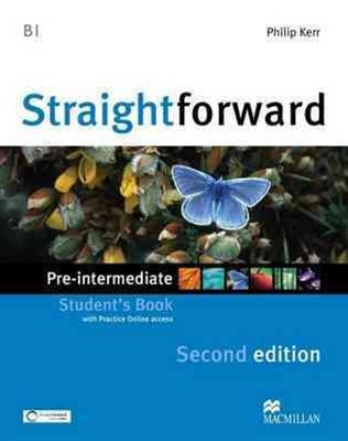 STRAIGHTFWD PRE-INT SB AND WEBCODE 2ND ED